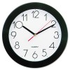 Narrow Round Wall Clock