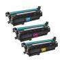 HP Compatible 648A Color Toner Cartridges