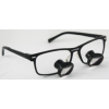 Feather Sight Loupes:  #TM1 Titanium Frame - TTL (3.0x Magnification)